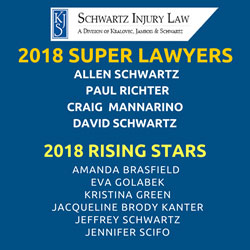 Schwartz Injury Law 2018 Super Lawyers in Illinois